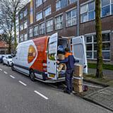 PostNL Chauffeur Pakket Bezorging